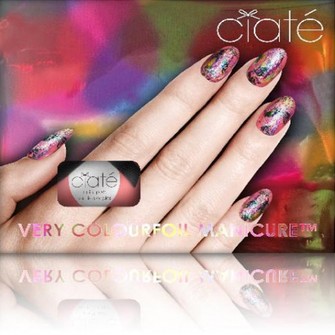 英國 Ciaté夏緹 Very Colourfoil Manicure Set 金箔指甲油組合- Carnival Couture 夢幻嘉年華
