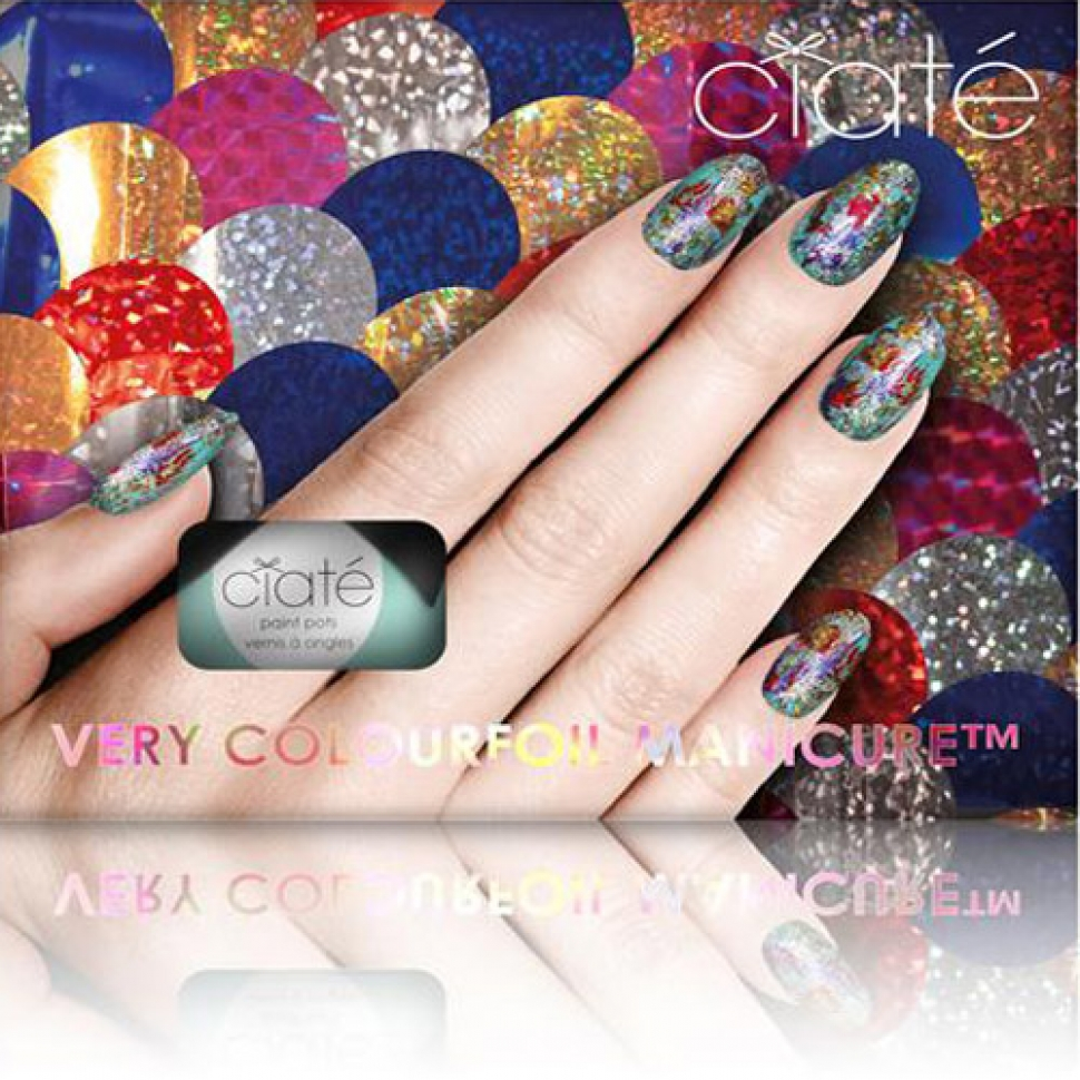 英國 Ciaté夏緹 Very Colourfoil Manicure Set 金箔指甲油組合- Kaleidoscopic Klash 時尚萬花筒